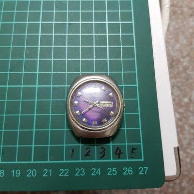 大錶徑<行走順暢><拉跳日期>日本 機械錶 TELUX 機心亮晶晶 自行研究 ☆隨意賣 另有 機械錶 老錶 滿天星 潛水錶 三眼錶 陶瓷錶 中性錶 G03