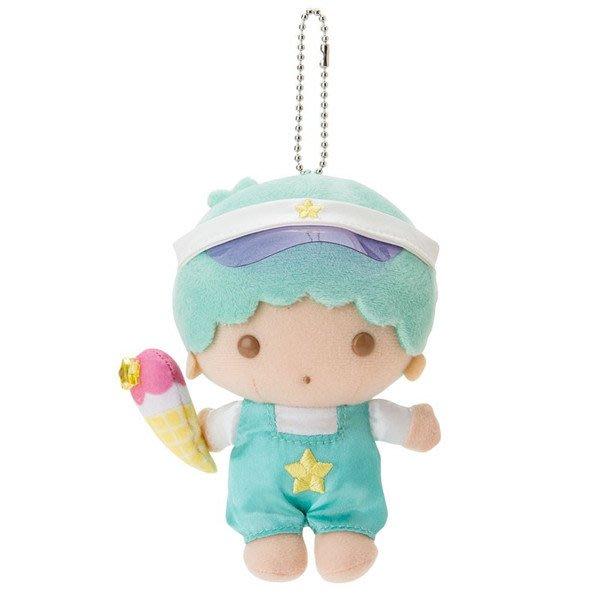 代購現貨 日本三麗鷗 雙子星 繽紛暑假系列KIKI&LALA 造型珠鍊吊娃