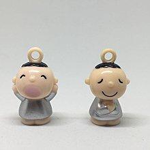 大口仔博物館 Saniro Minna No Tabo 早期 珍藏絕版罕有 只供收藏 全新 大口仔(銀色特別版 )吊飾一色兩隻+連鏈膠盒+打氣咭 實物如圖