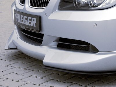 【樂駒】RIEGER BMW 3series E90 front spoiler lip  前下巴 前下擾流 空力 外觀