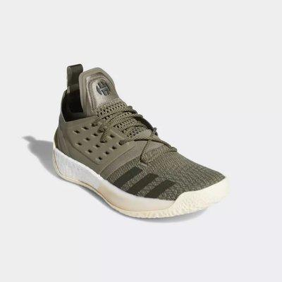 # adidas Harden Vol. 2 BOOST 軍綠 綠 哈登 火箭隊 大鬍子 籃球鞋 AQ0027 YTS
