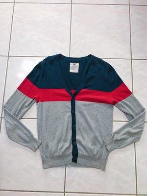 adlib Cardigan 開襟衫 灰色 深藍 紅 針織外套 正品 M