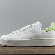 D-BOX  ADIDAS ORIGINALS STAN SMITH BOLD 休閒運動 白綠 滑板鞋 史密斯
