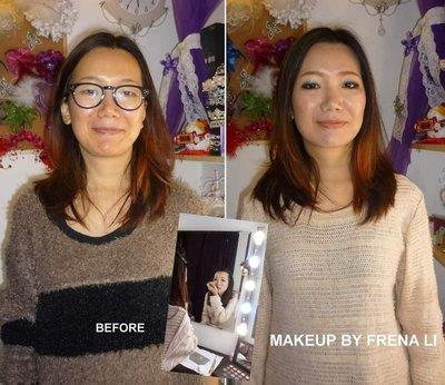 個人化妝課程 化妝品 個人化妝班 化妝課程 一對一個人化妝課程 髮型師 髮型課程 化妝教學