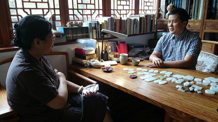 【御寶齋】--{蔣喜}--潘麗珠教授與天工獎、子岡杯--蘇幫玉雕大師的訪談書.. //編寫籌備中 //