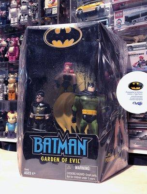 Artlife @ DC HASBRO 2002 BATMAN ROBIN POISON IVY 蝙蝠俠 毒藤女 羅賓