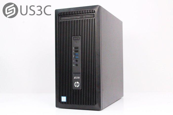 【US3C-小南門店】惠普 HP Z238 Workstation 電腦主機 i7-7700 32G 2TB Quadro K620-2G 獨顯 原廠保固內