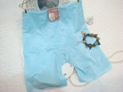 拜金的店 曼黛瑪璉內褲 全方位立體剪裁束褲    M L  號  P1208 BI 藍色