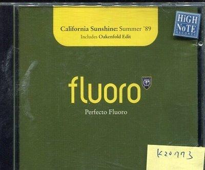 *真音樂* FLUORO / PERFECTO FLUORO 二手 K20773