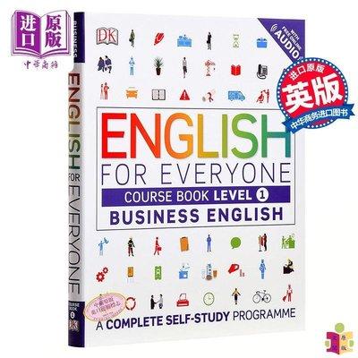 [文閲原版]{小花生網推薦}DK人人學英語 商務英語1 課本 英文原版DK-English for Everyone:B