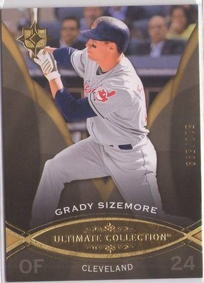 Hanley Ramirez + Sizemore + Granderson 2010 Ultimae Collection 高價卡包超美限量卡三張