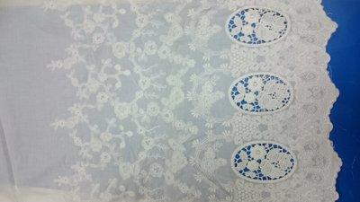 【蕾絲工坊】↙DIY手作材料↗*A418*拼布 刺繡棉布蕾絲