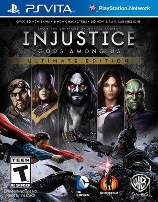 全新未拆 PSV 超級英雄:武力對決終極加強完整版 Injustice -英文美版- 蝙蝠俠對超人