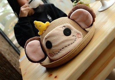 代購香港OUTLET商品 日本韓國萌少女 手工製造可愛立體帽子 編織草帽 遮陽帽 漁夫帽 造型帽 沙灘帽 親子帽