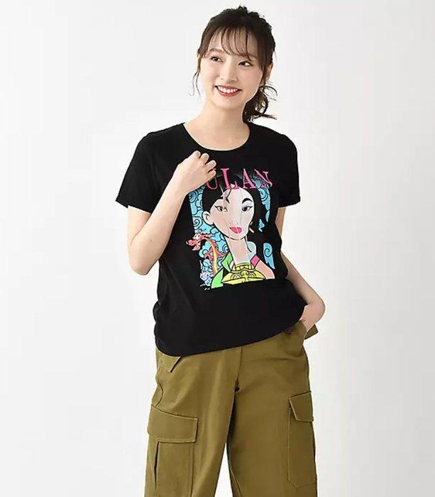 《FOS》日本 迪士尼 花木蘭 圓領T恤 圖案 短T 木須龍 Disney 時尚 可愛 限量 禮物 熱銷 2020新款