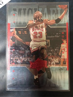 1999-00 Upper Deck Athlete of the century Michael Jordan #40