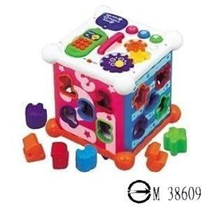 @企鵝寶貝@ 樂雅Toyroyal  新型六面盒【TF767】
