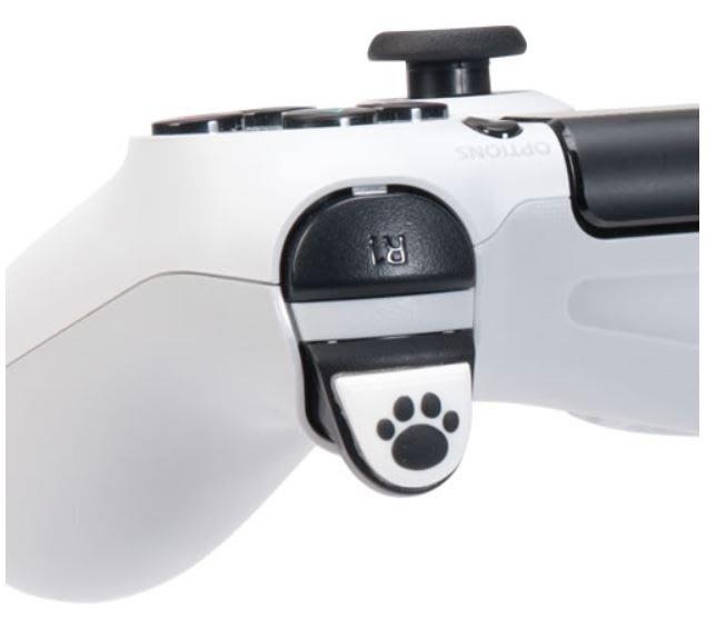 PS4控制器用(L2+R2)按鍵保護套(日本Cyber)
