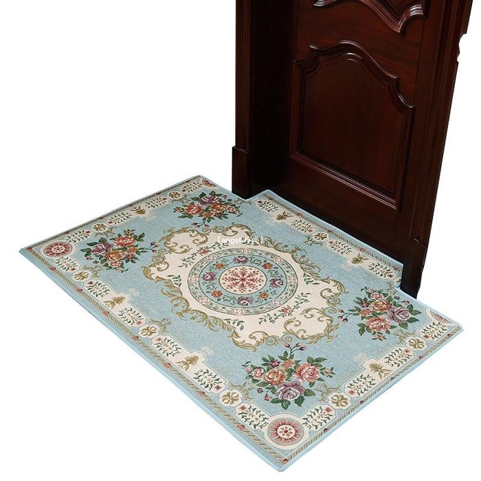 『angel.時尚』 定制入戶門地墊進門門口門墊客廳衛生間臥室腳墊居家用吸水防滑地毯