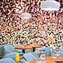 §仿真花飾裝飾北歐壁挂花牆壁面 花立體裝飾...