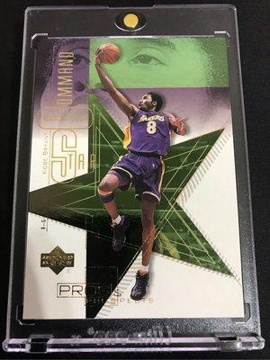 🐍2000-01 Upper Deck Pros & Prospects Star Command #SC1 Kobe Bryant