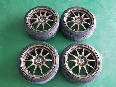 RAYS鋁圈、RAYS-CE28鋁圈、RAYS鍛造鋁圈、RAYS輕量化鋁圈(17吋-4H114.3-ET33-7.5J)