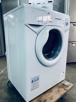 小型洗衣機  Candy 金鼎 薄身型 AQUA1041D1-S 1000轉 98%新 免費送及裝(包保用)