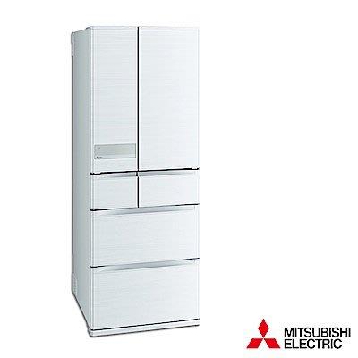 MITSUBISHI三菱 605公升 1級變頻6門電冰箱 MR-JX61C-W-C 日本原裝