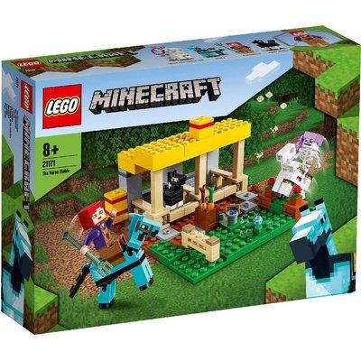 正版樂高 LEGO Minecraft 創世神系列  LEGO 21171 馬廄