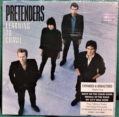 PRETENDERS 偽裝者合唱團 LARNING TO CRAWL匍匐前行【歐版全新未拆】紙盒版
