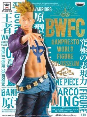 日本正版 景品 海賊王 航海王 BWFC 造型王頂上決戰 SPECIAL 不死鳥 馬可 模型 公仔 日本代購