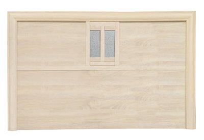 【南洋風休閒傢俱】精選時尚床片 雙人床頭片-如意5尺木心板床片  CY-107-44