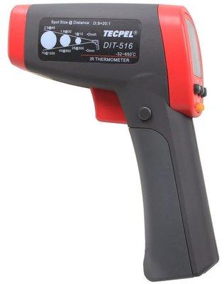 TECPEL 泰菱》 DIT-516 紅外線溫度計 測溫儀 非接觸溫度計 650℃ DIT516