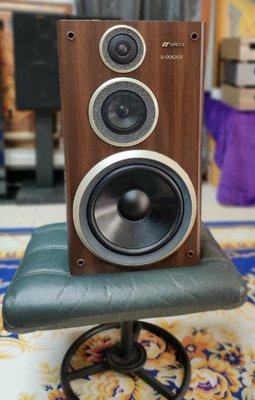 日本製 SANSUI S-900XR 主聲道大型書架喇叭 含網罩 品相優 110W 8歐姆