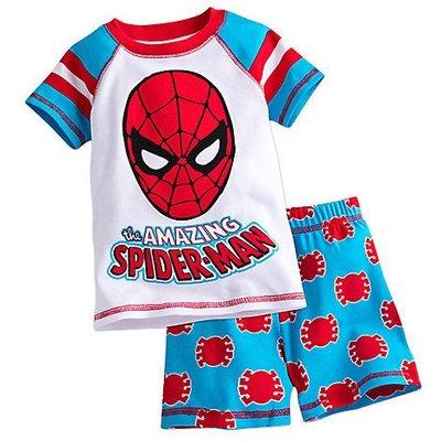 【豆芽Tsai美國商品】美國正品  DISNEY Spider-Man  蜘蛛人上衣 + 短褲 睡衣 / 550元含運