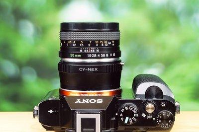 Zeiss/Contax同級 優質人像鏡 Yashica ML 50mm F1.9 C/Y接口