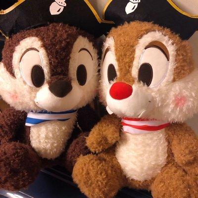 全新 正版 迪士尼 Disney 日本景品 大鼻與鋼牙 Chip n Dale 松鼠仔 XL 大公仔 一對2隻 另有手袋 鈄咩袋 聖誕 生日 畢業 禮物
