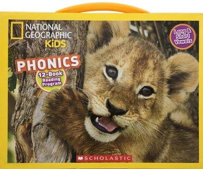 National Geographic Kids Phonics Long&short Vowels英文繪本
