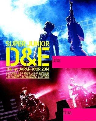 東海銀赫SUPER JUNIOR D&E THE 1st JAPAN TOUR 2014 日版初回限定版2BLU-RAY