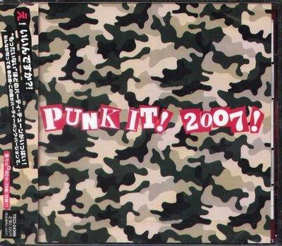 (甲上唱片) Punk It ! 2007 !  - 日盤  Mxpx , Boozed , Slimboy , Gob
