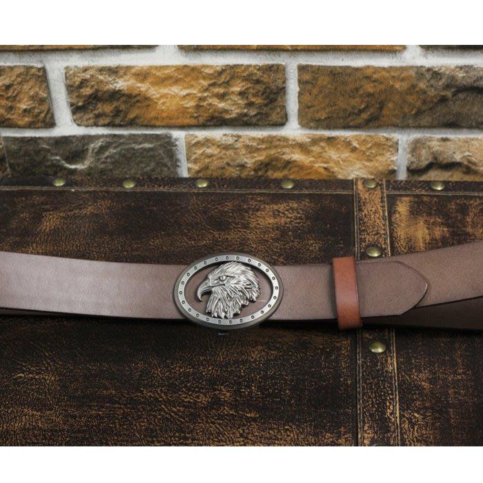 『老兵牛仔』LB-3064自動扣窄版牛皮皮帶/頭層牛皮/復古/彈力/耐拉/個性
