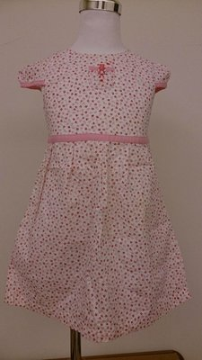 麗嬰房familiar粉紅小花洋裝