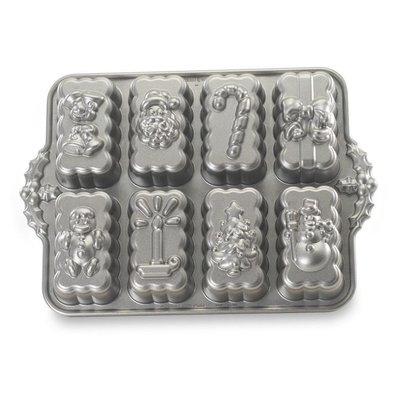 美國Nordic Ware 53948 Holiday Mini Loaves 小蛋糕烤模