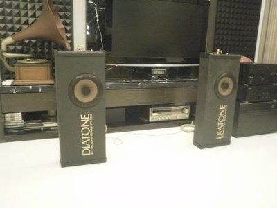 (老高音箱)日本 DIATONE SX220 全音域/重低音 兩用喇叭一對 音質佳