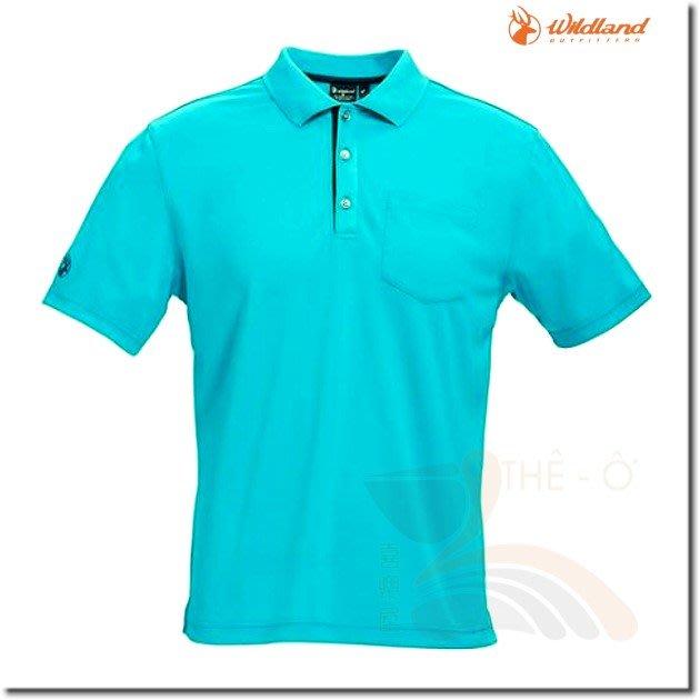 荒野 WILDLAND 0A71652-67 男款椰碳紗吸排POLO衫 抗UV 吸濕 快乾 抗菌 喜樂屋戶外
