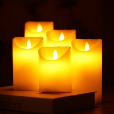LED電子蠟燭燈 創意家用酒吧夜店電子裝飾蠟燭(7.5cm*12.5cm一入)_☆優購好SoGood☆
