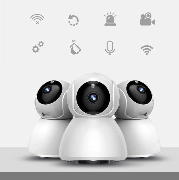 FINDSENSE 智慧攝影機 1080P 360度視角 超廣角監視器 攝像頭 移動偵測 雙向語音紅外線夜視