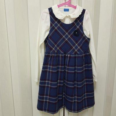 麗嬰房 familiar 學院風兩件式背心裙