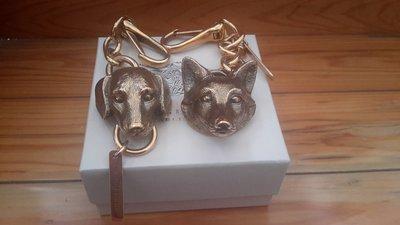 Burberry 狐狸/狗狗 鑰匙圈/吊飾
