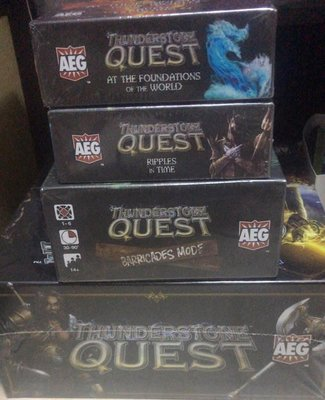 Thunderstone Quest (Retail Edition) (桌遊 DBG)